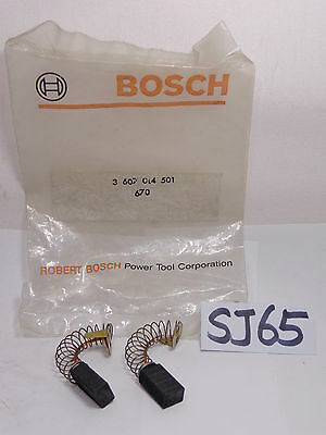 New Oem Original Replacement Part Bosch Brush Set 3607014501
