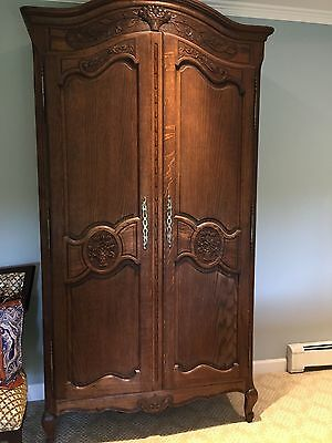 Authentic French Louis Xiv Armoire