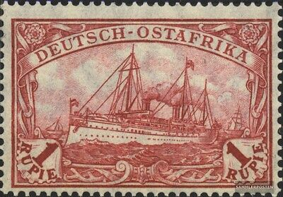 German-Eastern Africa 38II B with hinge 1919 Ship Imperial Yacht Hohenzollern