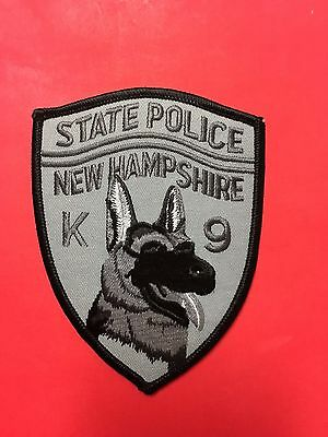 New Hampshire State Police K-9  Shoulder  Patch