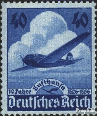 German Empire 603 (complete issue) unmounted mint / never hinged 1936 Lufthansa-
