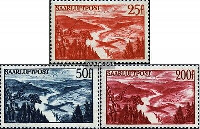 Saar 252-254 (complete issue) unmounted mint / never hinged 1948 Airmail