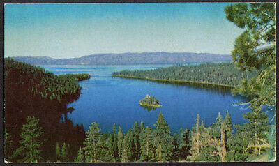 Lake Tahoe NV CA Union 76 postcard 1939