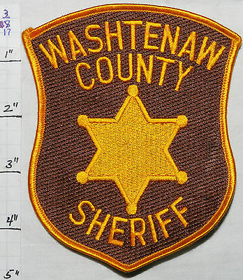 Michigan, Washtenaw County Sheriff Dept Patch