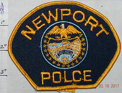 Oregon, Newport Police Dept Vintage Patch