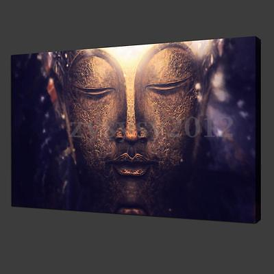 Large Buddha Abstract Canvas Painting Print Wall Art Picture Home Decor Unframed
