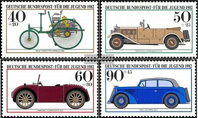 FRD (FR.Germany) 1123-1126 (complete.issue) unmounted mint / never hinged 1982 Y