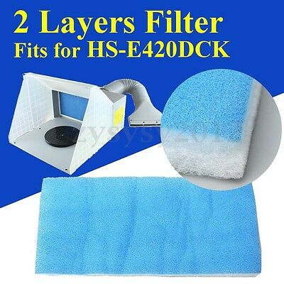 Replacement Spray Booth Filter Sponge for Airbrush Spray Paint Booth HS-E420DCK