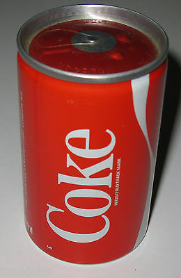 Full Can of COCA-COLA (COKE) - 150 ml - ENGLAND 1985 - Missing Pull-tab - VG++