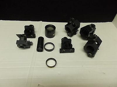 Ednalite, USA, optisches equipment, Labor, 10 Teile / Parts