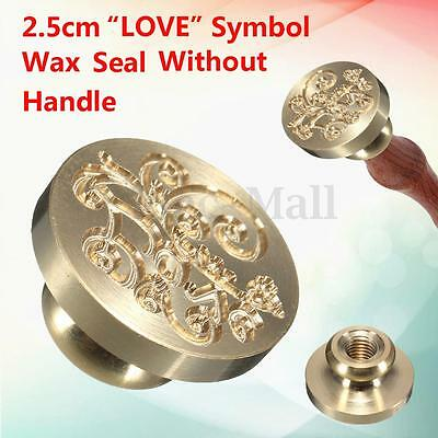 25mm Love Symbol Initial Letter Wax Sealing Stamp Wedding Classic Vintage Kit