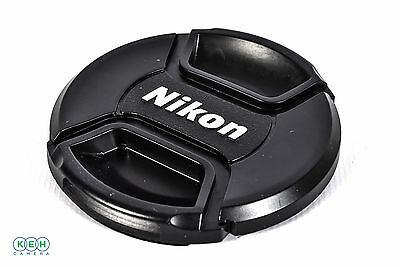 Genuine Nikon 67mm LC-67 Center Pinch Snap-On Front Lens Cap