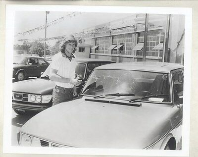 1980 ? Bjorn Borg Saab 900 Turbo ORIGINAL Factory Photograph ww6916