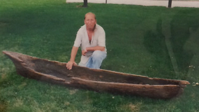 Extremely Rare Museum Grade Authentic Indian Dugout Canoe Found In Spencer Co In