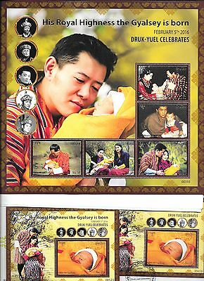 BHUTAN His Royal Highness Gyalsey is Born