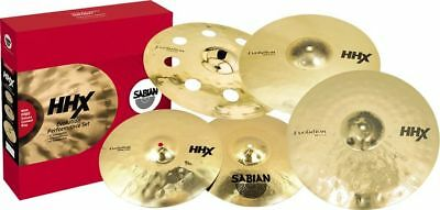 Sabian HHX Evolution Set with Free 18in HHX O-Zone Crash