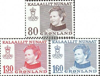 Denmark-Greenland 112-114 (complete issue) unmounted mint / never hinged 1979 Qu