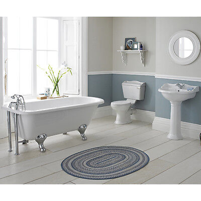 Marquis Traditional Freestanding Bath Close Coupled WC Toilet Basin Sink Taps