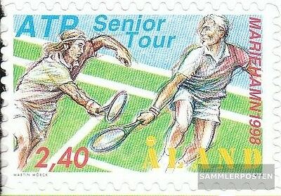 Finland-Aland 143 (complete issue) used 1998 ATP-Seniors-tennis