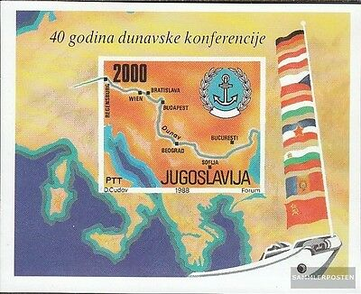 Yugoslavia Block33 (complete issue) unmounted mint / never hinged 1988 40 years