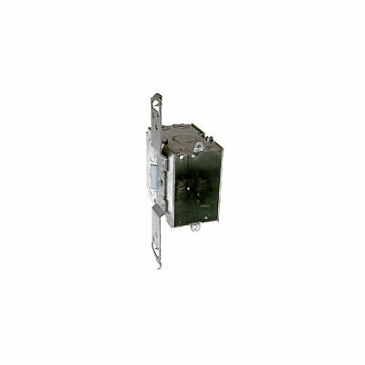 Raco 605 Gangable Switch Box, 1 Gang, 18 cu-in x 3 in L x 2 in W x 3-1/2 in D
