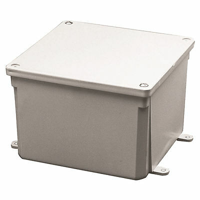 Carlon E987NR Rigid Junction Box, 4 in L x 4 in W x 4 in D