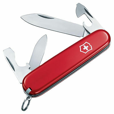 Swiss Army Recruit 7-In-1 Multi-Tool Knife 3-1/4 in Closed L, Red?, Stainless St