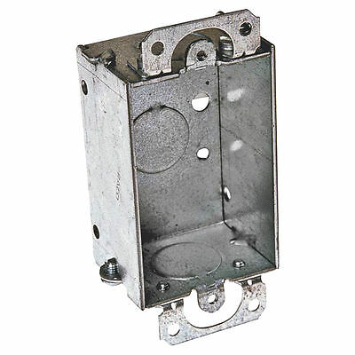 Raco 400 Gangable Switch Box, 1 Gang, 7.5 cu-in x 3 in L x 2 in W x 1-1/2 in D