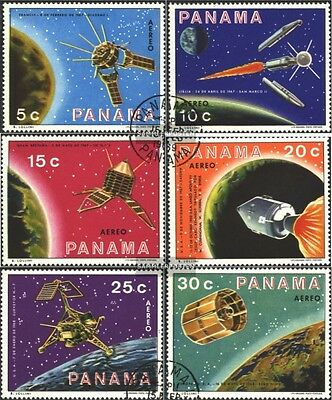 Panama 1137-1142 (complete issue) used 1969 Space