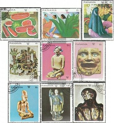 Panama 1125-1133 (complete issue) used 1968 Contemporary mexica
