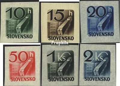 Slovakia 115-120 (complete issue) unmounted mint / never hinged 1943 newspaper b