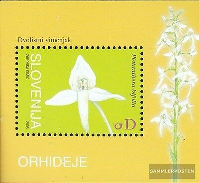 slovenia block25 (complete issue) used 2005 Orchids