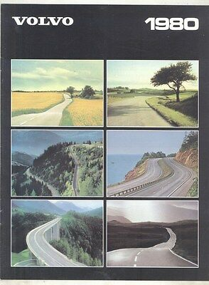 1980 Volvo 66 343 345 242 244 245 262 264 265 GL GLE GLT Brochure Dutch my7170