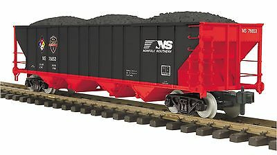 MTH 70-75052 G Gauge/One Gauge 4-Bay Hopper Car Norfolk Southern First Responder