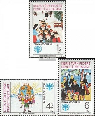 Turkish-Cyprus 77-79 (complete issue) unmounted mint / never hinged 1979 Childre
