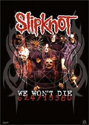 SLIPKNOT ~ WE WON'T DIE 22x34 MUSIC POSTER NEW/ROLLED!