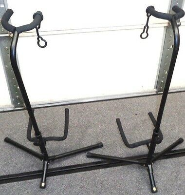 Lot of 2 Guitar Stands - Electric - Bass - Acoustic