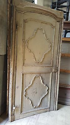 Northern Italian antique huge door c. 1700 Biella