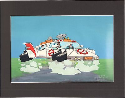 GHOSTBUSTERS (real) Original Production Animation Art Cel DIC 2*