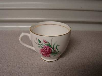 Duchess gold trim and floral design Teacup made in England tea cup