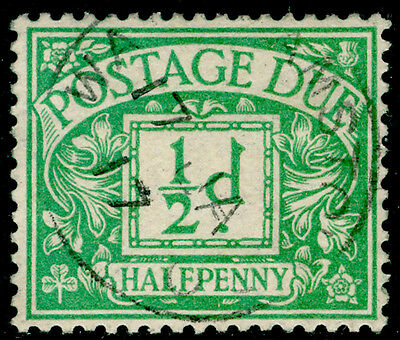 SgD1, ½d emerald, FINE used, CDS.