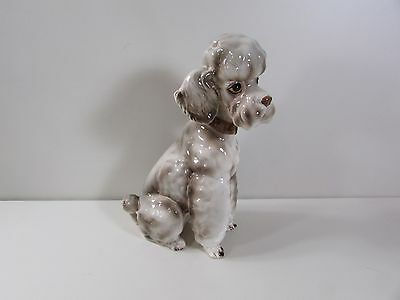 """The Kennel Club by Shafford 12""""h """"Topsy"""" Poodle Dog Statue Figurine"""