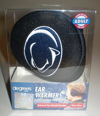 Penn State Nittany Lions 180s Degrees Ear Warmers Muffs Adult Size NEW