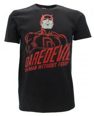 T-Shirt Daredevil 'the Man without Fear !' Original Marvel Comics