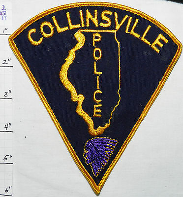 Illinois, Collinsville Police Dept Vintage Patch