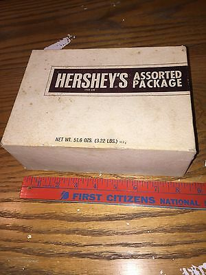 Hershey's Hershey's Hershey Chocolate Old Vintage Assorted Package Box Rally Bar
