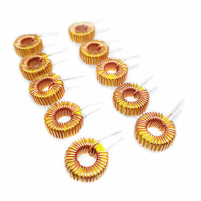 US Stock 10pcs 47uH 470 3A AMP Coil Wire Wrap Toroid Inductor Choke