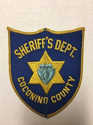 Coconino County Arizona Sheriff Shoulder Patch  Old Used