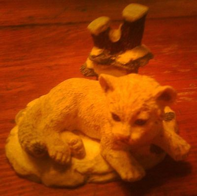 Snow Leopard  Protect Nature's Innocents Sculpture Collection  1995
