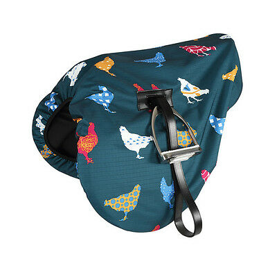 Shires Waterproof Saddle Cover - One Size - Diff Patterns: Dog, Sheep & Horse